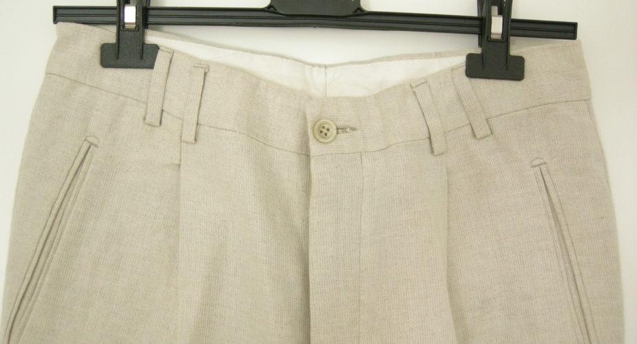 Come lavare i pantaloni in lino