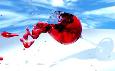 Come togliere una macchia di vino