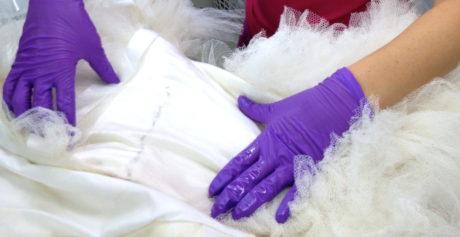 Consigli per lavare un abito da sposa