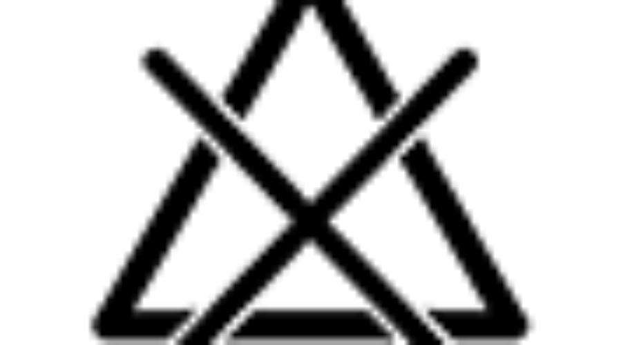 Etichette di lavaggio – Triangolo con la X