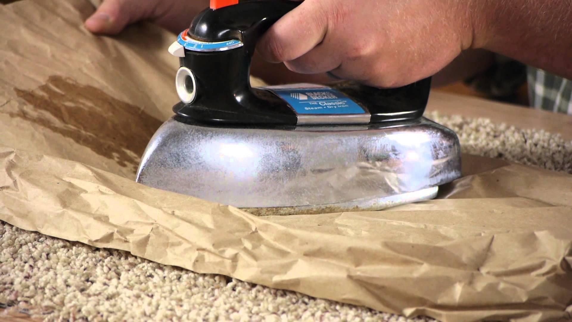 Come Eliminare una Macchia di Cera da un Tessuto