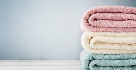 Come eliminare il cattivo odore dall'asciugamano?